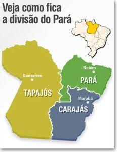 Novo mapa do Para